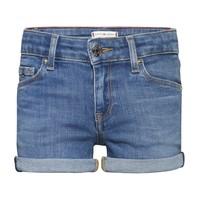 Textil Dívčí Kraťasy / Bermudy Tommy Hilfiger KG0KG05773-1A4 Modrá