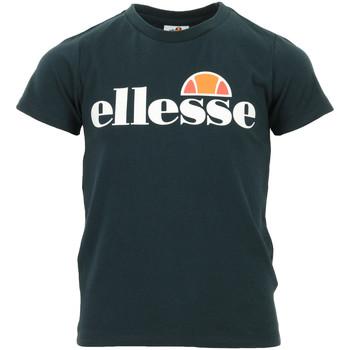 Textil Děti Trička s krátkým rukávem Ellesse Malia Tee Jr Modrá