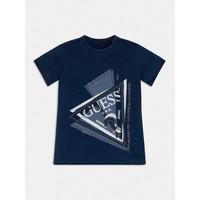 Textil Chlapecké Trička s krátkým rukávem Guess L1RI15-K8GA0-F233 Modrá