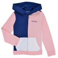 Textil Dívčí Mikiny Guess K1RQ00-KA6R0-F672 Bílá / Růžová