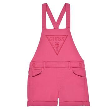 Textil Dívčí Overaly / Kalhoty s laclem Guess K1GK10-WB5Z0-JLPK Růžová