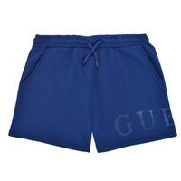 Textil Dívčí Kraťasy / Bermudy Guess J1GD00-KAN00-PSBL Tmavě modrá