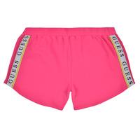 Textil Dívčí Kraťasy / Bermudy Guess J1GD12-KAE20-JLPK Růžová
