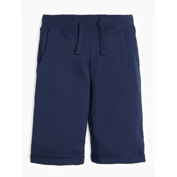 Textil Chlapecké Kraťasy / Bermudy Guess L93Q25-K5WK0-C765 Tmavě modrá
