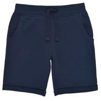 Textil Chlapecké Kraťasy / Bermudy Guess N93Q18-K5WK0-C765 Tmavě modrá