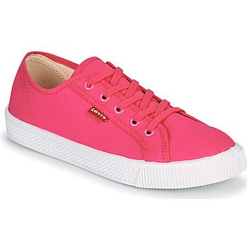 Boty Ženy Nízké tenisky Levi's MALIBU BEACH S Růžová