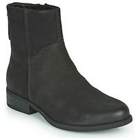 Boty Ženy Polokozačky Vagabond Shoemakers CARY Černá