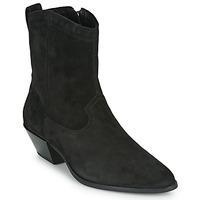 Boty Ženy Polokozačky Vagabond Shoemakers EMILY Černá