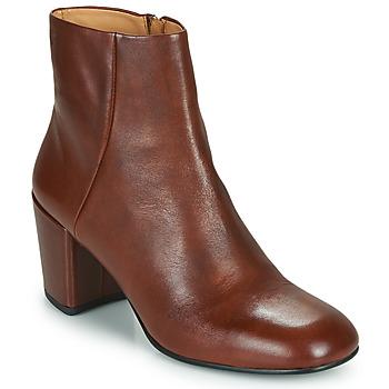 Boty Ženy Polokozačky Vagabond Shoemakers MELINA Zlatohnědá