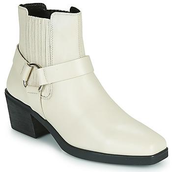 Boty Ženy Polokozačky Vagabond Shoemakers SIMONE Bílá