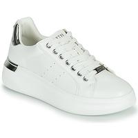 Boty Ženy Nízké tenisky Steve Madden GLACIAL Bílá / Stříbrná