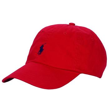 Textilní doplňky Muži Kšiltovky Polo Ralph Lauren HSC01A CHINO TWILL Červená