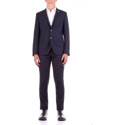 Textil Muži Obleky Manuel Ritz 2932A3318-203554 Modrá