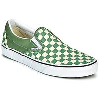 Boty Muži Street boty Vans CLASSIC SLIP ON Zelená