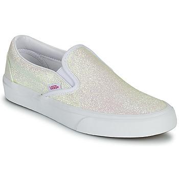 Boty Ženy Street boty Vans CLASSIC SLIP ON Třpytivý / Béžová / Růžová