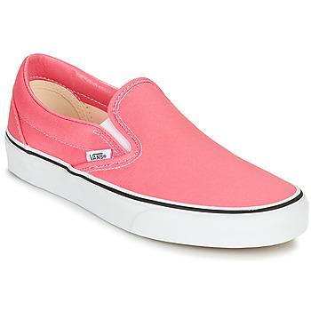 Boty Ženy Street boty Vans CLASSIC SLIP ON Růžová