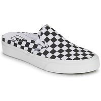 Boty Dřeváky Vans CLASSIC SLIP ON MULE Černá / Bílá