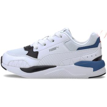 Boty Děti Módní tenisky Puma 374192 Bílý