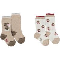 Doplňky  Ponožky Melby 20S2100 Béžový