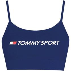 Textil Ženy Sportovní podprsenky Tommy Hilfiger S10S100450 Modrý