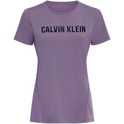 Textil Ženy Trička & Pola Calvin Klein Jeans 00GWS0K195 Fialový