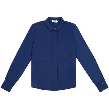 Textil Ženy Košile / Halenky Calvin Klein Jeans K20K202183 Modrý
