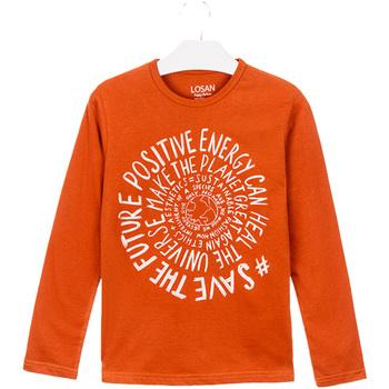 Textil Děti Trička & Pola Losan 023-1013AL Oranžový