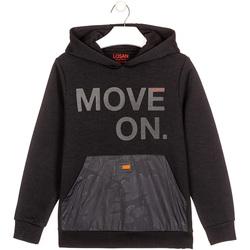 Textil Děti Mikiny Losan 023-6006AL Černá