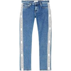 Textil Muži Rifle Calvin Klein Jeans J30J316018 Modrý