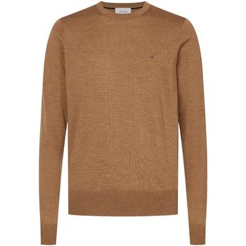 Textil Muži Svetry Calvin Klein Jeans K10K102727 Hnědý