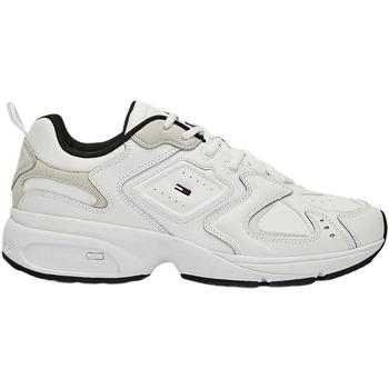 Boty Muži Módní tenisky Tommy Hilfiger EM0EM00491 Bílý