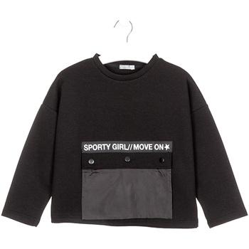 Textil Děti Mikiny Losan 024-1015AL Černá