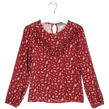 Textil Děti Trička & Pola Losan 024-3001AL Červené