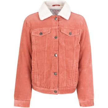 Textil Děti Bundy Losan 024-2001AL Růžový