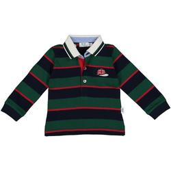 Textil Chlapecké Polo s dlouhými rukávy Melby 20C0270 Zelený