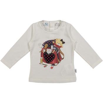 Textil Děti Trička & Pola Melby 20C0361 Bílý