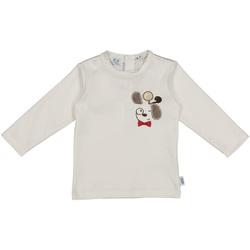Textil Děti Trička & Pola Melby 20C2150 Bílý
