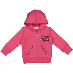 Textil Děti Mikiny Melby 20D2341 Růžový