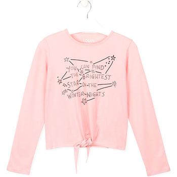 Textil Děti Trička & Pola Losan 024-1202AL Růžový