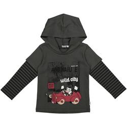 Textil Děti Mikiny Melby 40C2062DN Šedá