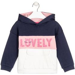 Textil Děti Mikiny Losan 026-6025AL Modrý