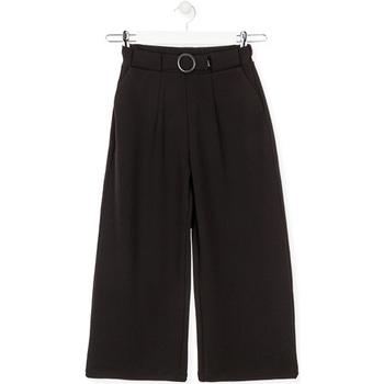 Textil Děti Kalhoty Losan 024-6793AL Černá