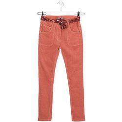Textil Děti Rifle slim Losan 024-9005AL Růžový