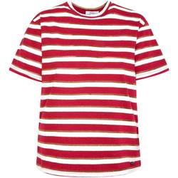 Textil Ženy Trička s krátkým rukávem Pepe jeans PL504521 Červené