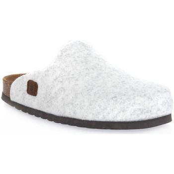Boty Pantofle Bioline GHIACCIO MERINOS Bianco