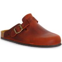 Boty Pantofle Bioline RUGGINE INGRASSATO Arancione
