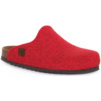 Boty Pantofle Bioline RIBES MERINOS Rosso