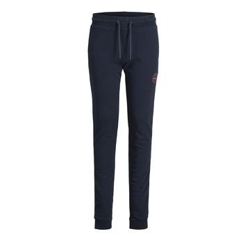 Textil Chlapecké Teplákové kalhoty Jack & Jones JJIGORDON JJSHARK SWEAT PANT Tmavě modrá