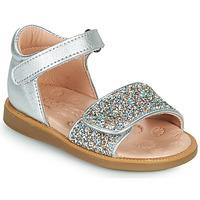 Boty Dívčí Sandály Acebo's 1232-PLATA Stříbrná