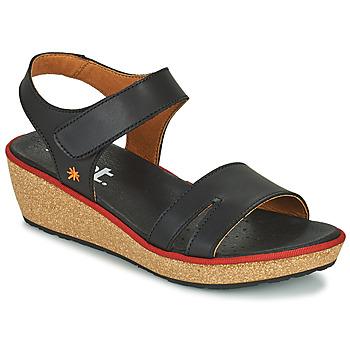 Boty Ženy Sandály Art CAPRI Černá